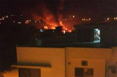 راولپنڈی میں تربیتی طیارہ آبادی پر گر گیا، 18 افراد جاں بحق
