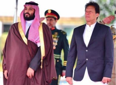 عمران خان کا سعودی ولی عہد شہزادہ محمد بن سلمان سے ٹیلی فونک رابطہ