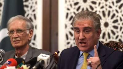 شاہ محمود قریشی کا جنرل سیکرٹری او آئی سی سے رابطہ کرنے کا فیصلہ