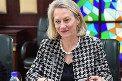 امریکی نائب معاون وزیر خارجہ ایلس ویلز آج پاکستان پہنچیں گی