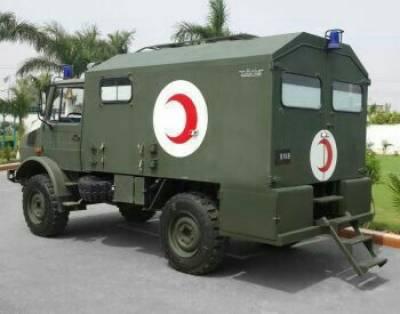 داسو میں فوجی ایمبولینس دریا میں گر گئی، کیپٹن سمیت 4 جوان شہید
