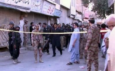 کوئٹہ : مشن روڈ پر دھماکے میں ایک شخص جاں بحق ،دس زخمی ہوگئے