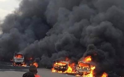 تنزانیہ میں آئل ٹینکر میں دھماکے سے 57 افراد ہلاک
