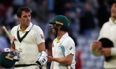 آسٹریلیا اور انگلینڈ کی ٹیموں کے درمیان دوسرا ایشز ٹیسٹ میچ ڈرا