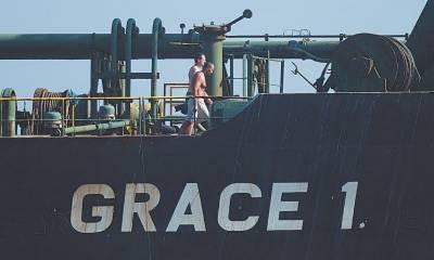 ایرانی تیل بردار بحری جہاز جبرالٹر سے ایران کی طرف روانہ