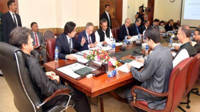 وزیر اعظم کی زیر صدارت کابینہ کا اجلاس ، وزیر خارجہ کی کشمیر کی صورتحال پر بریفنگ
