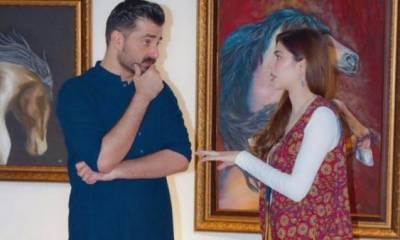 حمزہ علی عباسی نے نیمل خان سے شادی کی تصدیق کر دی
