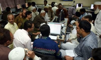 پاکستان اسٹاک ایکسچینج میں مثبت رجحان، انڈیکس میں 912 پوائنٹس کا اضافہ