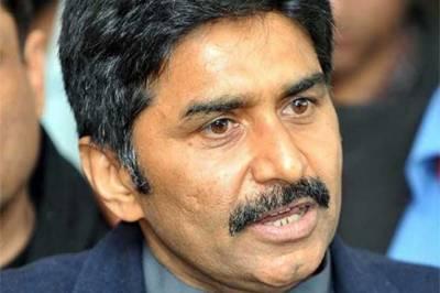 جاوید میانداد نے کشمیر میں بھارتی مظالم کیخلاف تلوار اٹھالی