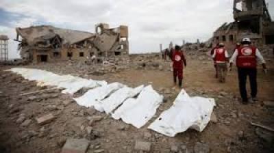 یمن جنگ ، سعودی اتحاد کی بمباری سے 100 سے زائد افراد ہلاک