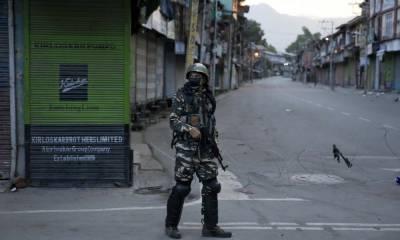مقبوضہ کشمیر میں پابندیوں اور کرفیو کا 30 واں روز