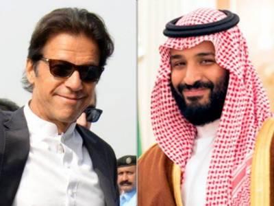 وزیراعظم کا سعودی ولی عہد سے رابطہ، کشمیر کی صورتحال پر گفتگو