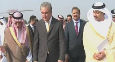 سعودی عرب اور یو اے ای کے وزرائے خارجہ اسلام آباد پہنچ گئے