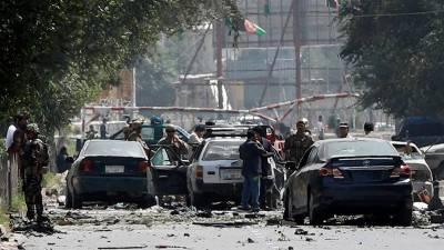 کابل: افغان خفیہ ادارے کے دفتر کے باہر خودکش دھماکا، 10 افراد ہلاک