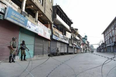 مقبوضہ کشمیر میں لاک ڈاؤن کا 43 واں روز، بھارتی مظالم کا سلسلہ جاری