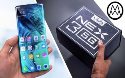 چینی کمپنی کا انتہائی جدید فون نیکس تھری متعارف