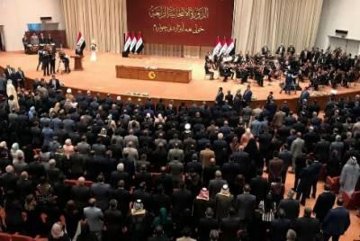 عراقی پارلیمان میں امریکیوں کو نکالنے کے لیے دستخطی مہم
