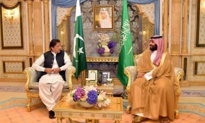 وزیراعظم کی سعودی ولی عہد محمد بن سلمان سے ملاقات، کشمیر کی تازہ ترین صورتحال سے آگاہ کیا