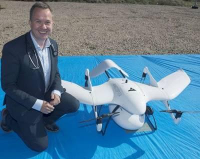 دنیا کی پہلی ڈرون انسولین کی فراہمی کا کامیاب تجربہ مکمل