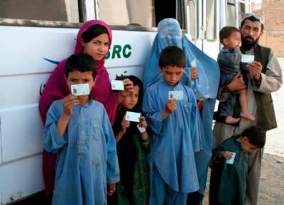 8 لاکھ 24 ہزار افغان مہاجرین کو مہاجر کارڈ جاری