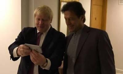 وزیراعظم کی برطانوی ہم منصب بورس جانسن سے ملاقات