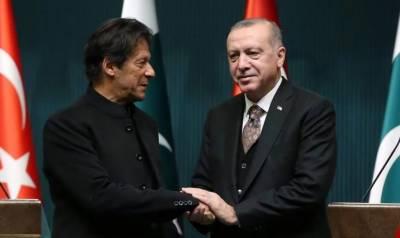 اقوام متحدہ میں مسئلہ کشمیر اٹھانے پر وزیراعظم عمران خان ترک صدر کے مشکور