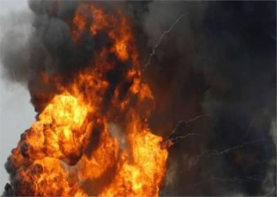 پشاور کے ہسپتا ل میں سلنڈر دھماکہ ، 4افراد زخمی