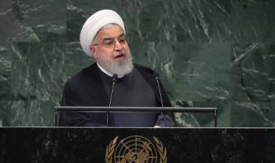 امریکا بینکنگ نظام کا فائدہ اٹھاتے ہوئے ڈاکو کا کردارا ادا کر رہا ہے, ایرانی صدر حسن روحان