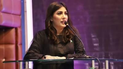 کشمیر پر بات کرنے سے انکار کی ویڈیو وائرل ہونے کے بعد مہوش حیات نے وضاحتی بیان جاری کردیا