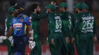 سری لنکا نے پاکستان کو 298رنز کا بڑا ہدف دے دیا