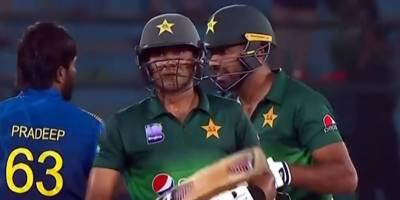 پاکستان نے سری لنکا کو تیسرے ون ڈے میں شکست دیدی