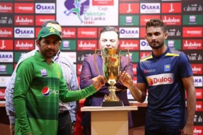 پاکستان اور سری لنکا کے درمیان پہلا ٹی 20 آج کھیلا جائیگا