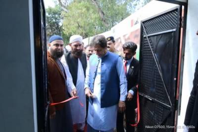 وزیر اعظم عمران خان نے 'احساس سیلانی لنگر' سکیم کا افتتاح کر دیا