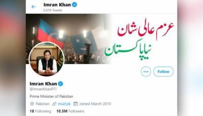 وزیراعظم عمران خان ٹوئٹر پر دنیا کے چھٹے مقبول ترین عالمی رہنما بن گئے