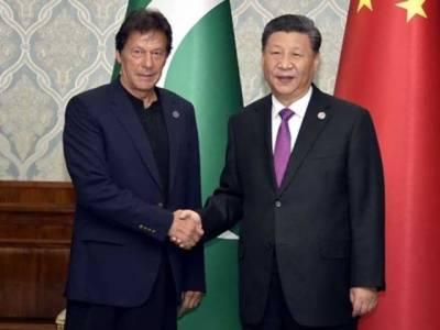 وزیراعظم کی چینی صدر سے ملاقات، مسئلہ کشمیر پر حمایت پر شکریہ