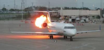 ایتھوپین جہاز کے انجن میں آگ لگنے سے ڈاکار ایئر پورٹ پر ہنگامی لینڈنگ، تمام مسافر اور عملے کے اراکین محفوظ رہے