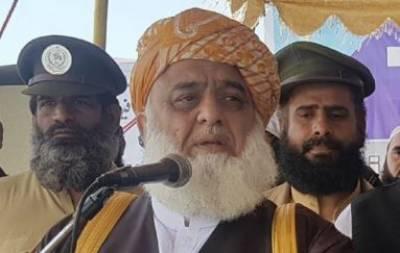 مولانا فضل الرحمان نے حکومت کیخلاف آزادی مارچ کو قومی تحریک قرار دےدیا