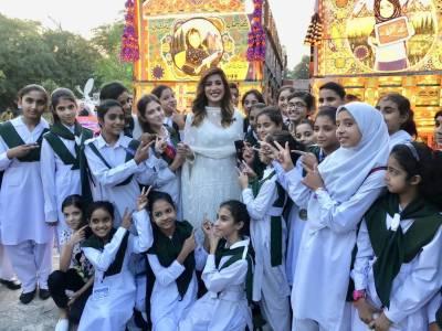 مہوش حیات لڑکیوں کے حقوق کی خیر سگالی سفیر منتخب