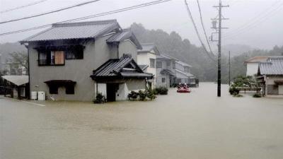 جاپان میں سمندری طوفان سے تباہی،11افراد ہلاک ،17لاپتہ