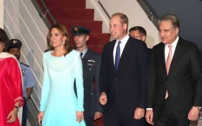 برطانوی شاہی جوڑا پاکستان پہنچ گیا، آج صدر اور وزیراعظم سے ملاقات ہو گی