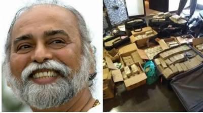 بھارتی مذہبی رہنماکے گھرسے 550کروڑروپے اور قیمتی اشیاء برآمد