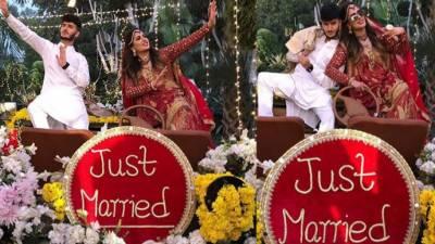 مہوش حیات اور شاہ ویر جعفری کی شادی کی تصاویر وائرل