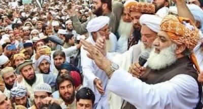 آزادی مارچ کا وقت مقرر ہے،اس پر کوئی سمجھوتہ نہیں ہوگا:مولانا فضل الرحمان