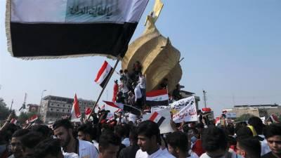 عراق میں سیکیورٹی فورسز کی مظاہرین پر فائرنگ، 18 افراد ہلاک