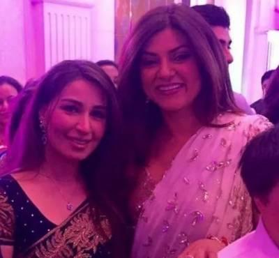 اداکارہ ریما اور سسشمیتا کی ایک ساتھ تصویر وائرل