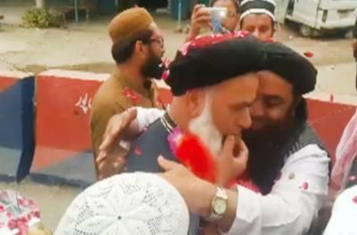جے یو آئی (ف) کے رہنما مفتی کفایت اللّٰہ ہری پور جیل سے رہا