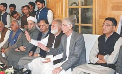 حکومتی وفد کی رہبر کمیٹی سے ملاقات, مذاکرات جاری رکھنے پر اتفاق