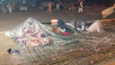 وزیراعظم نے بارش کے باعث دھرنے کے شرکا کی مشکلات کا نوٹس لے لیا