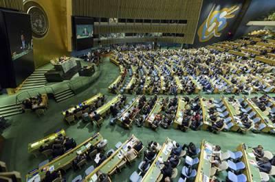 اقوام متحدہ کی جنرل اسمبلی میں حق خودارادیت کی حمایت میں پاکستانی قرارداد منظور