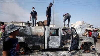 عراق میں اکتوبر سے جاری احتجاج میں ہلاکتوں کی تعداد 350 ہو گئی